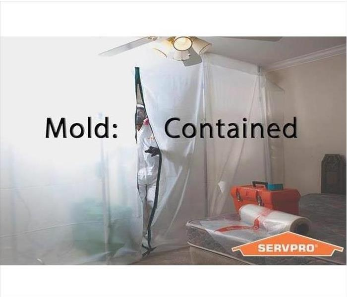 Mold containment chamber